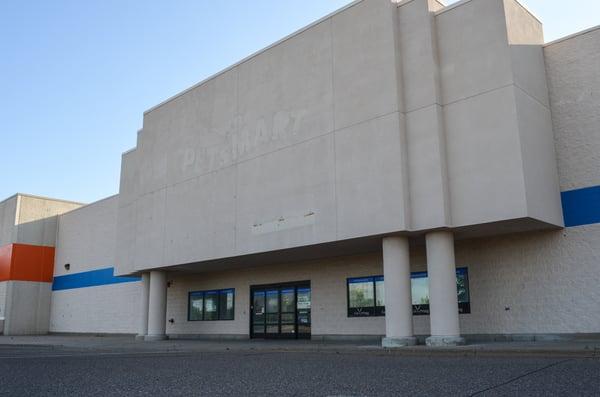 vacant big box store
