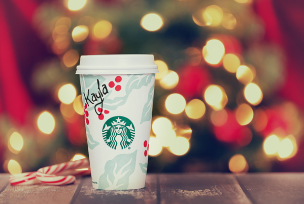 Holiday Starbucks